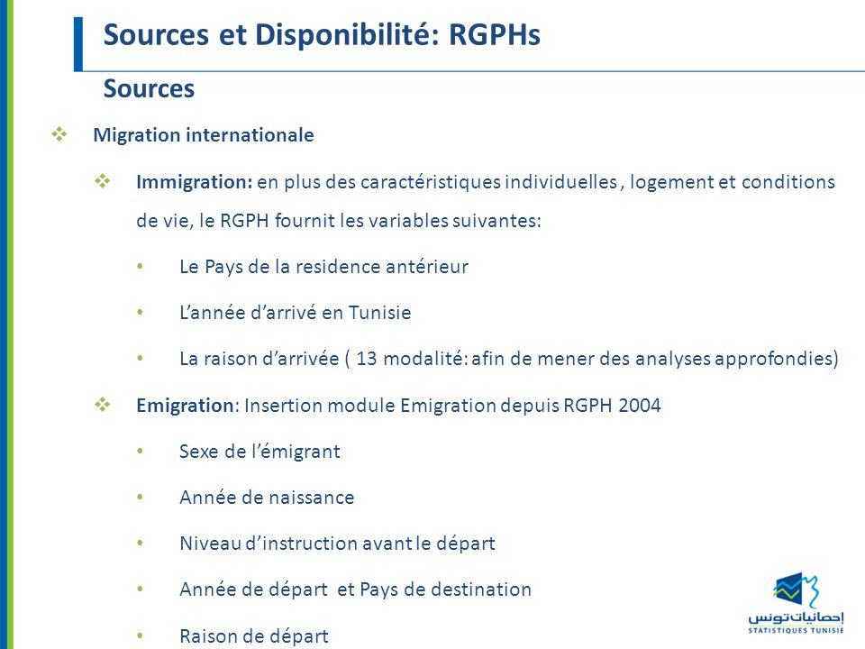 Statistiques migratoires disponibilit et limites ppt video online t l charger - Office de migration internationale ...