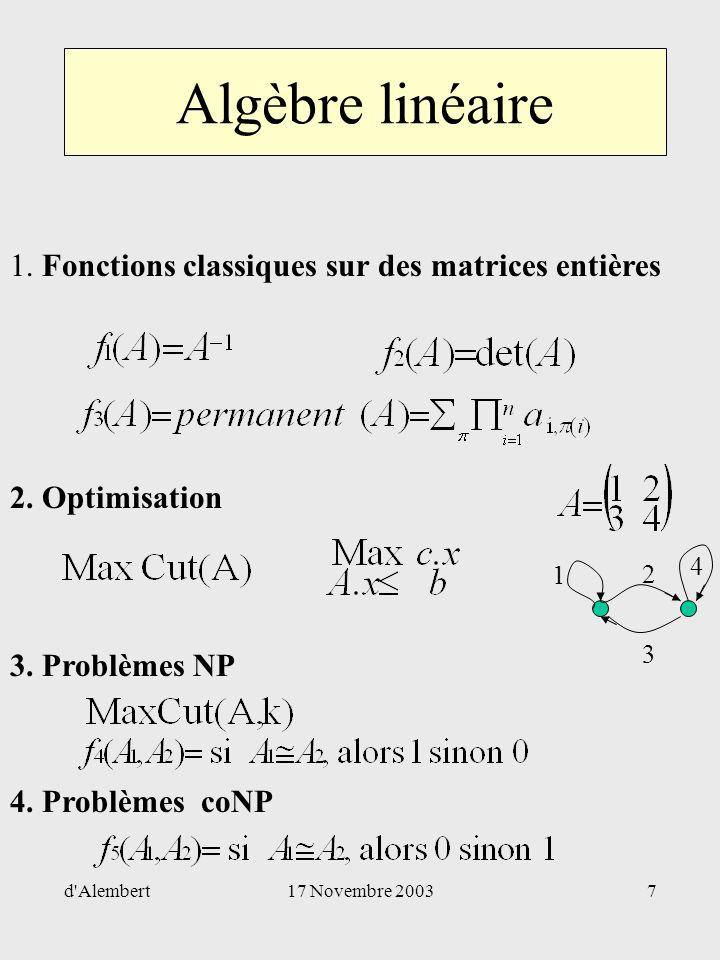 Livre - Exercices et problèmes d'algèbre - Maurice Gaultier