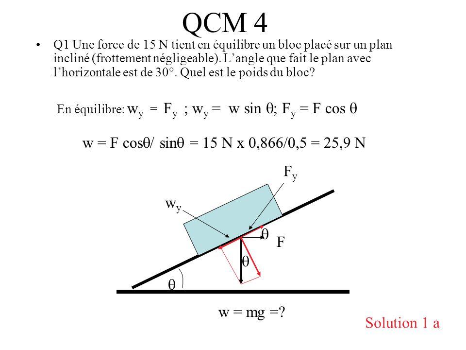 La physique generale ii biom caniques ppt t l charger - Plan incline avec ceinture de maintien ...