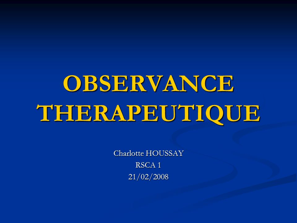 observance therapeutique ppt t 233 l 233 charger