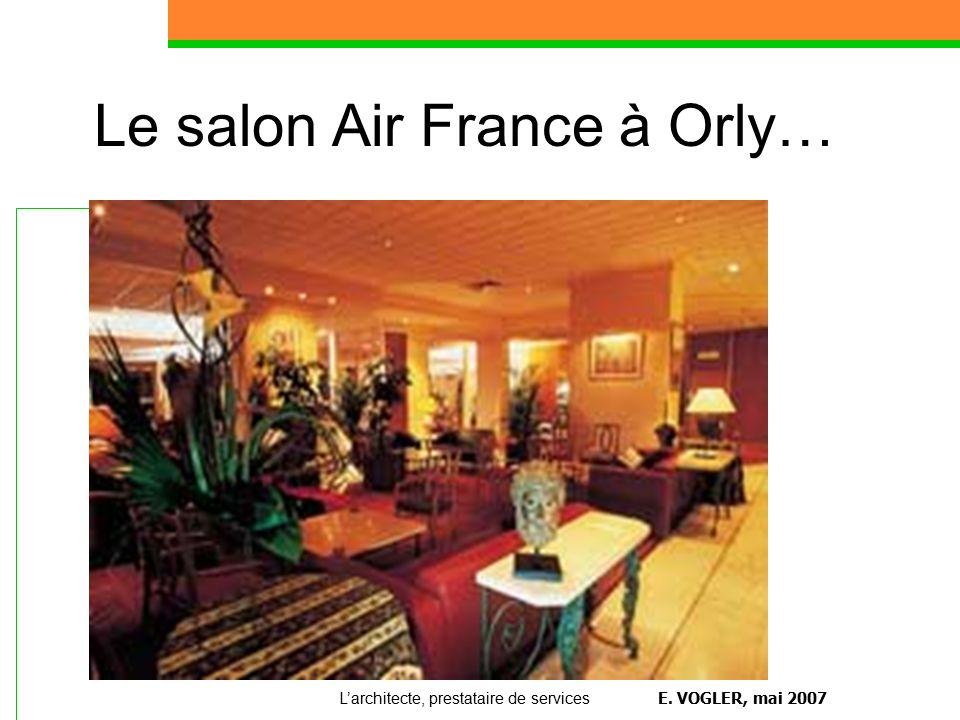 L architecte prestataire de services ppt t l charger - Comptoir air france orly telephone ...