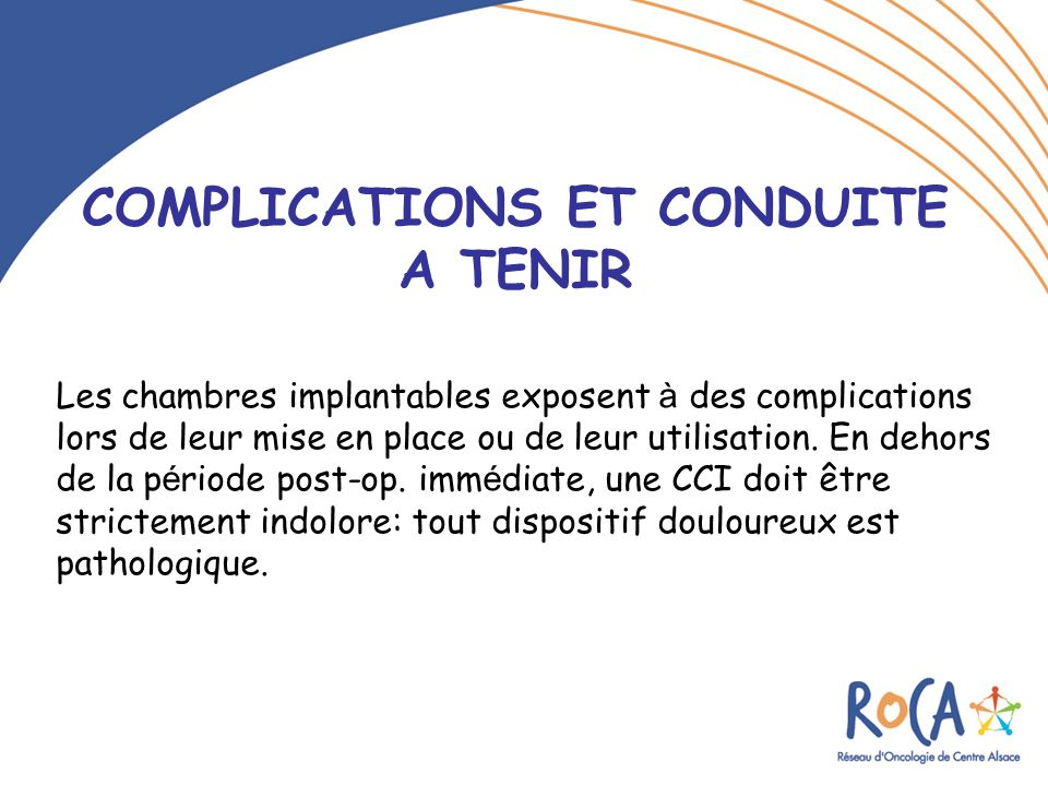 Les Chambres A Catheter Implantables Cci  Ppt Video Online
