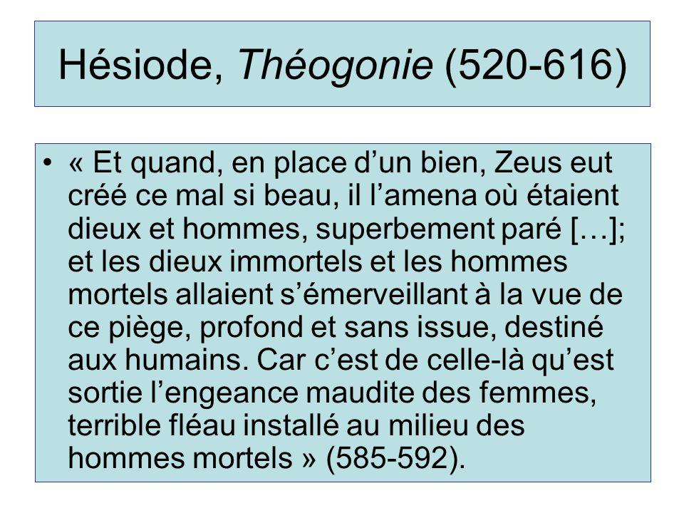 Hésiode, Théogonie (520-616)