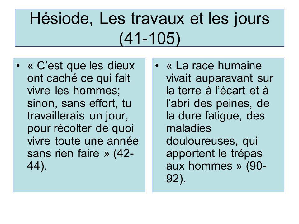 Hésiode, Les travaux et les jours (41-105)