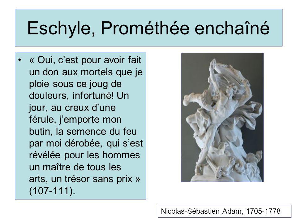 Eschyle, Prométhée enchaîné