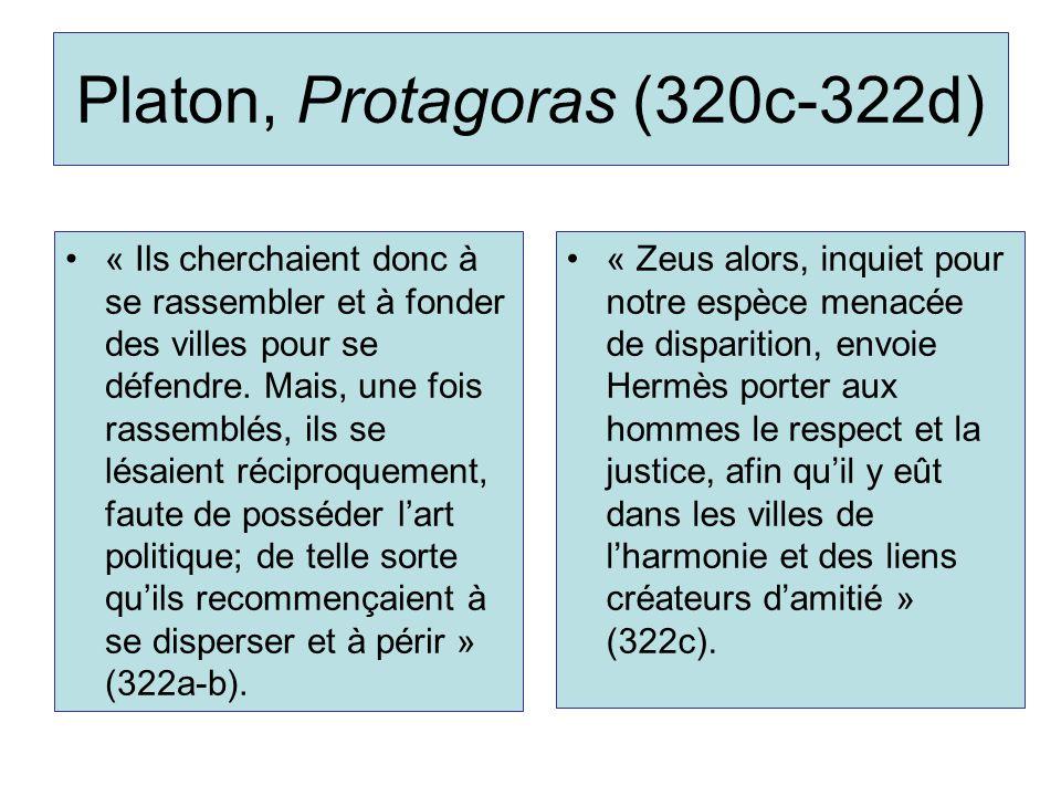 Platon, Protagoras (320c-322d)