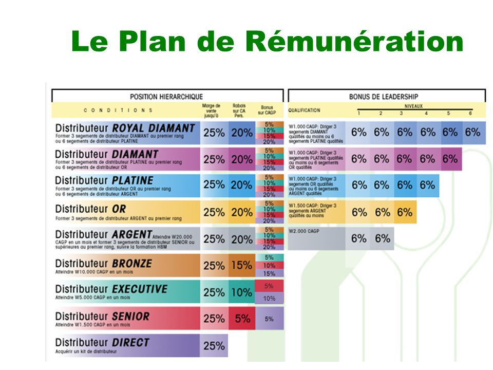 Le plan de remuneration de nikken ppt video online for Les plans de lowe