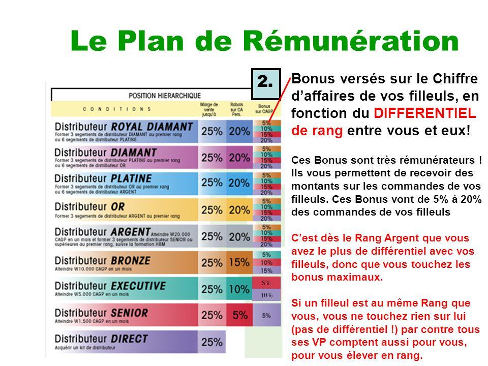 Le plan de remuneration de nikken ppt video online for Plus plan online