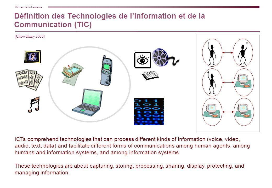 les nouvelles technologies de l�information et de la