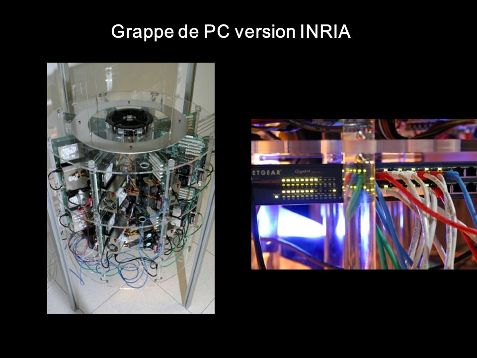Grappe de PC version INRIA