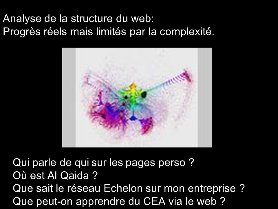 Analyse de la structure du web: