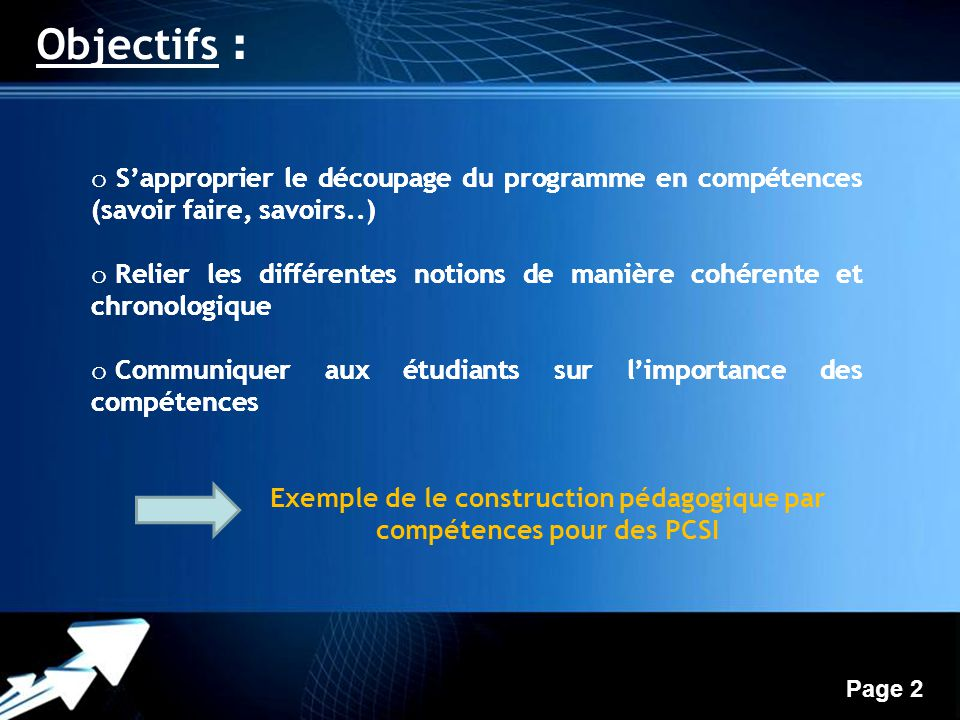 progression par comp u00e9tences