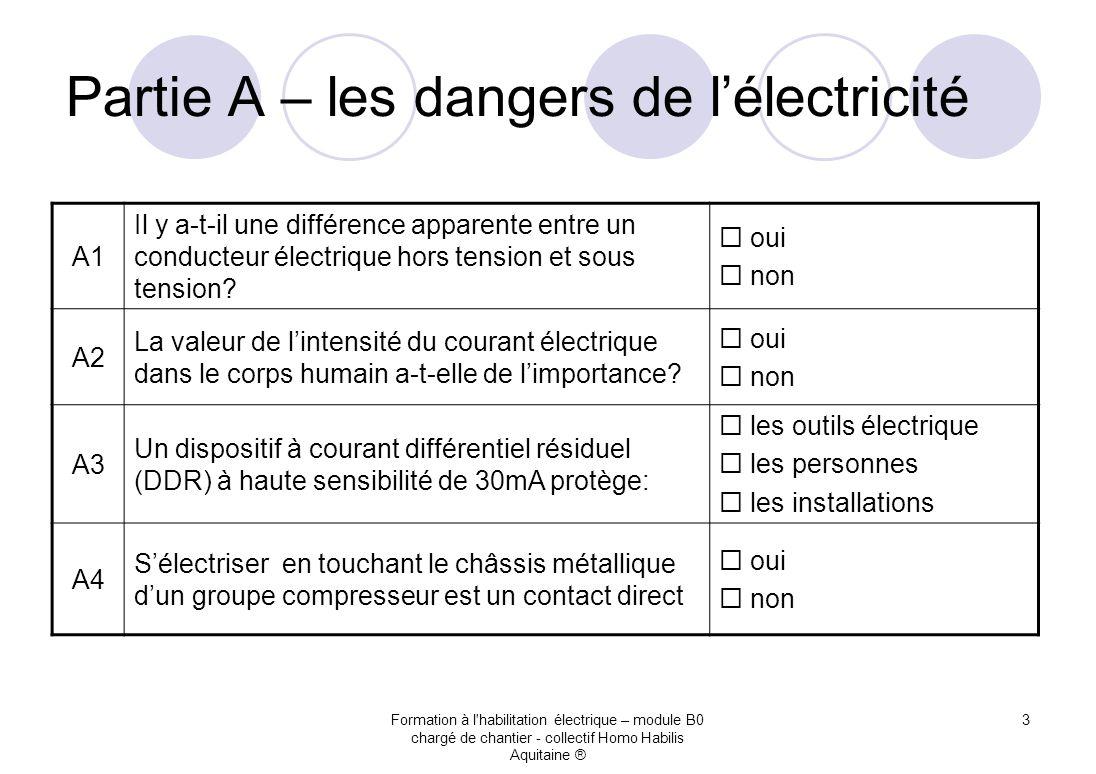Charg de chantier questionnaire b0 ppt t l charger for Dangers de l electricite