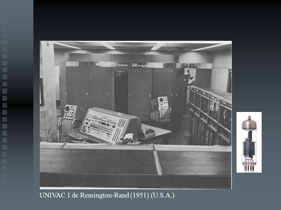 UNIVAC I de Remington-Rand (1951) (U.S.A.)
