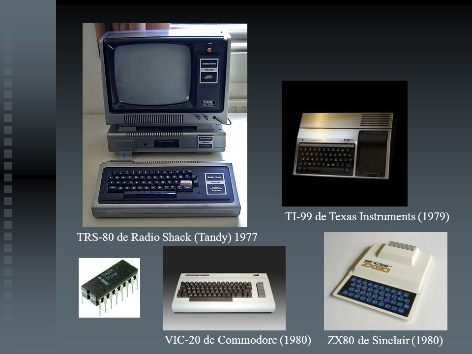 TI-99 de Texas Instruments (1979)
