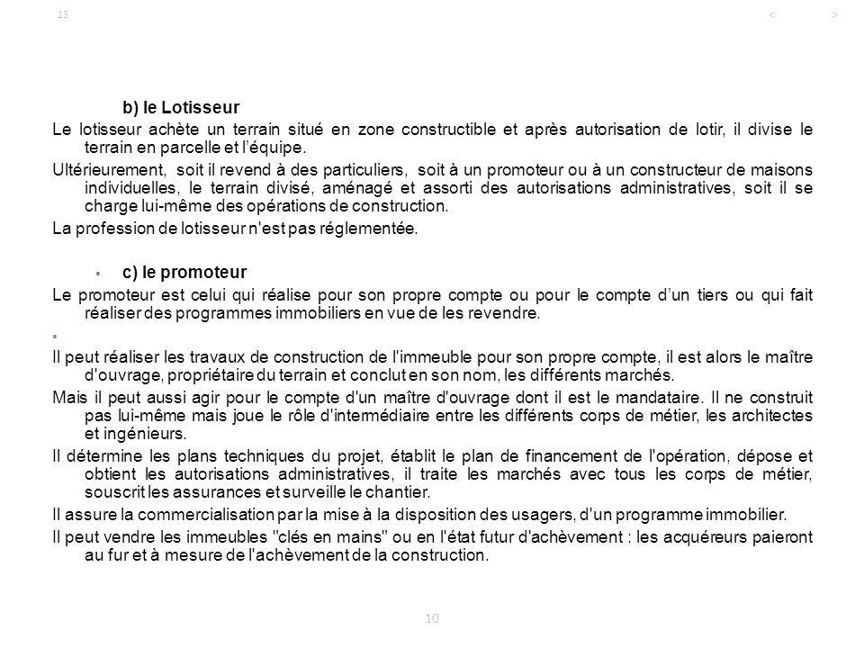 Licence professionnelle droit de l 39 immobilier ppt for Concevoir son propre plan de maison