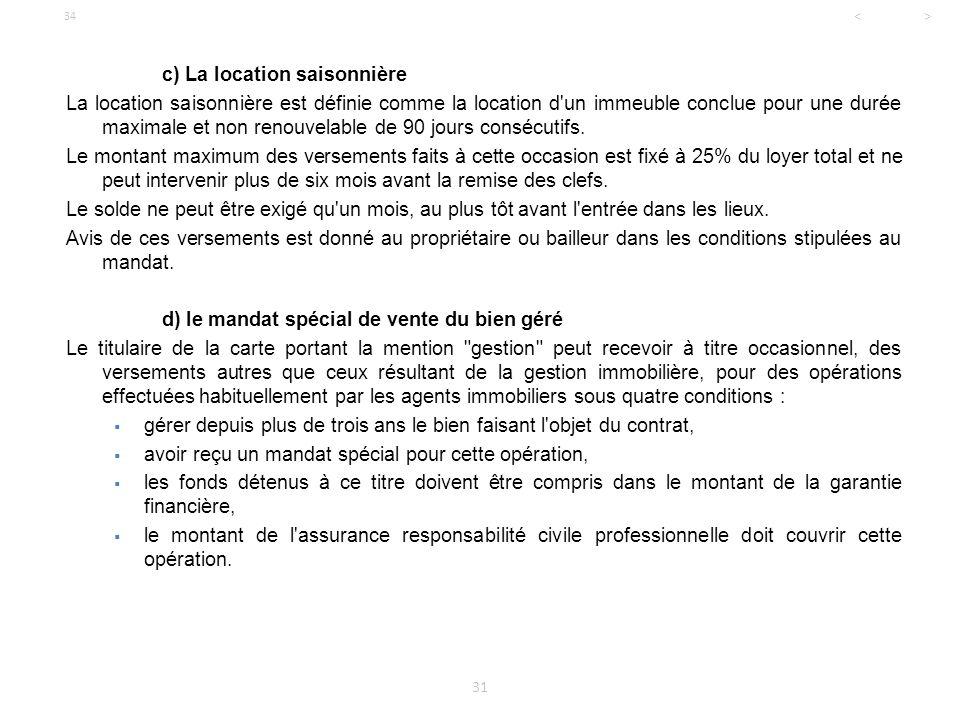Licence professionnelle droit de l 39 immobilier ppt - Cfe et location meublee non professionnelle ...
