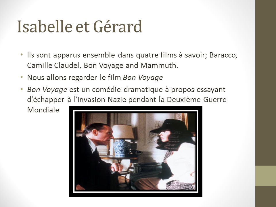 isabelle adjani par jessica sewell ppt video online t l charger. Black Bedroom Furniture Sets. Home Design Ideas
