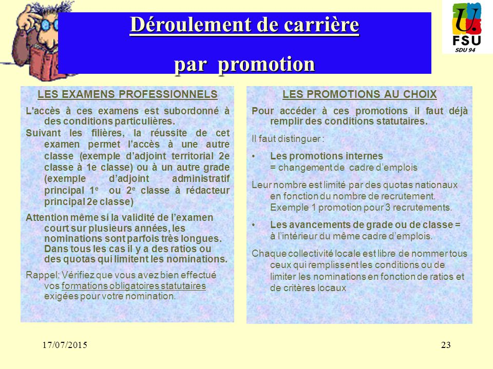 Formation nouveaux adherents ppt t l charger - Grille indiciaire adjoint technique territorial ...
