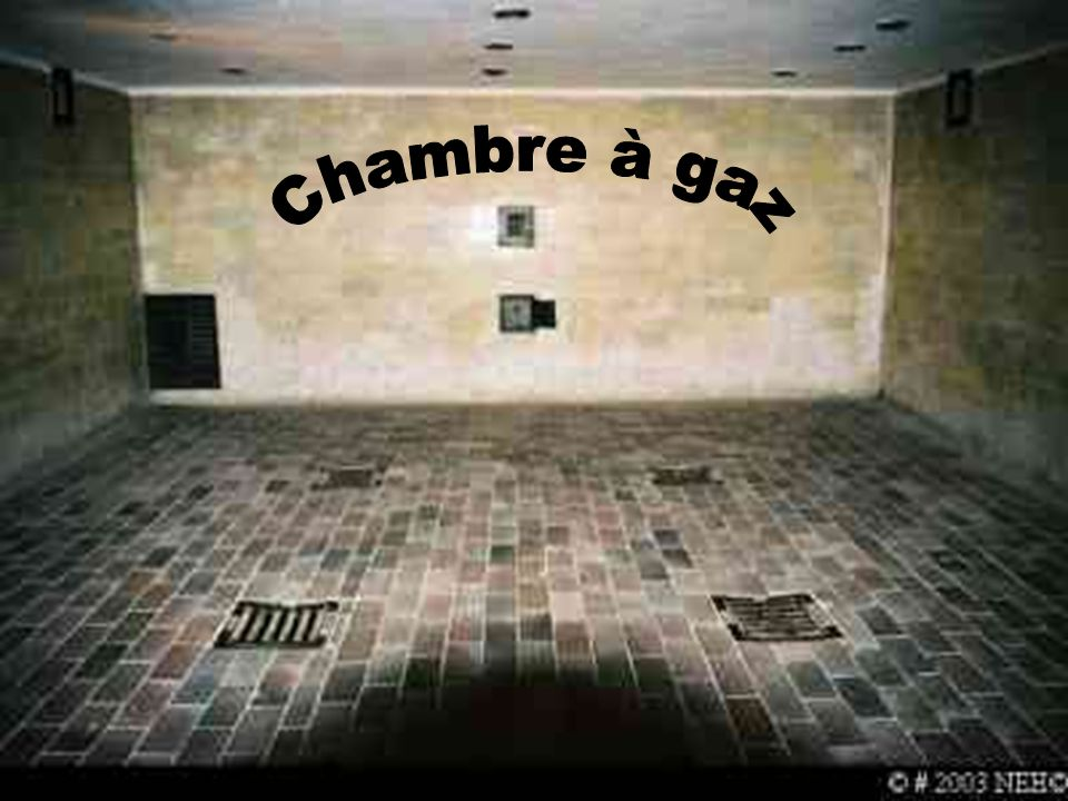 Les camps de concentration et ppt video online t l charger for Auschwitz chambre a gaz