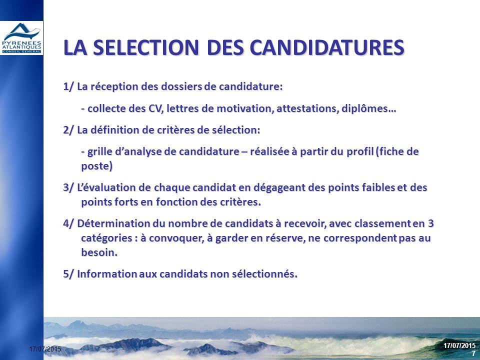 le recrutement des assistants d u2019education outils et methode
