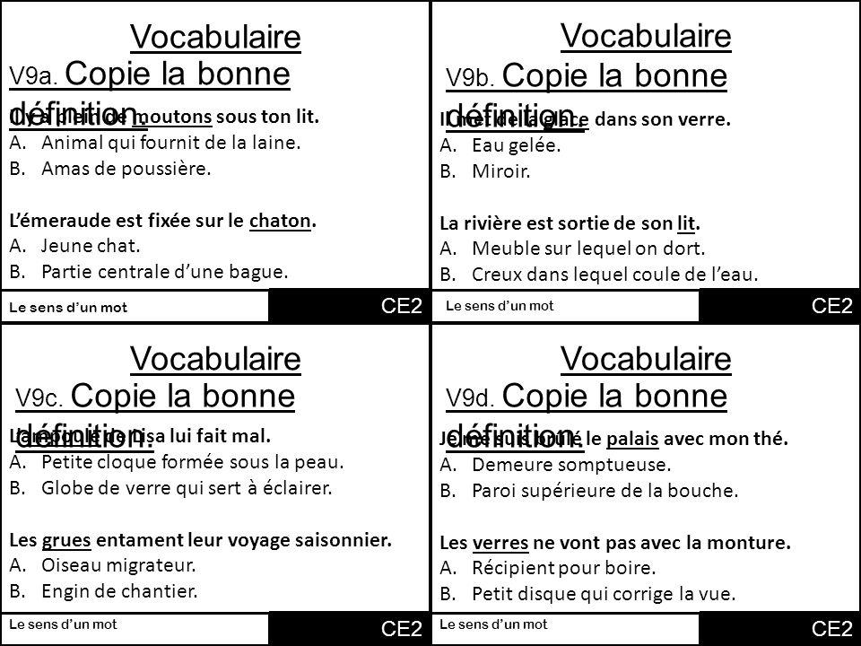 vocabulaire vocabulaire vocabulaire vocabulaire v1a associe 2 mots ppt t l charger. Black Bedroom Furniture Sets. Home Design Ideas