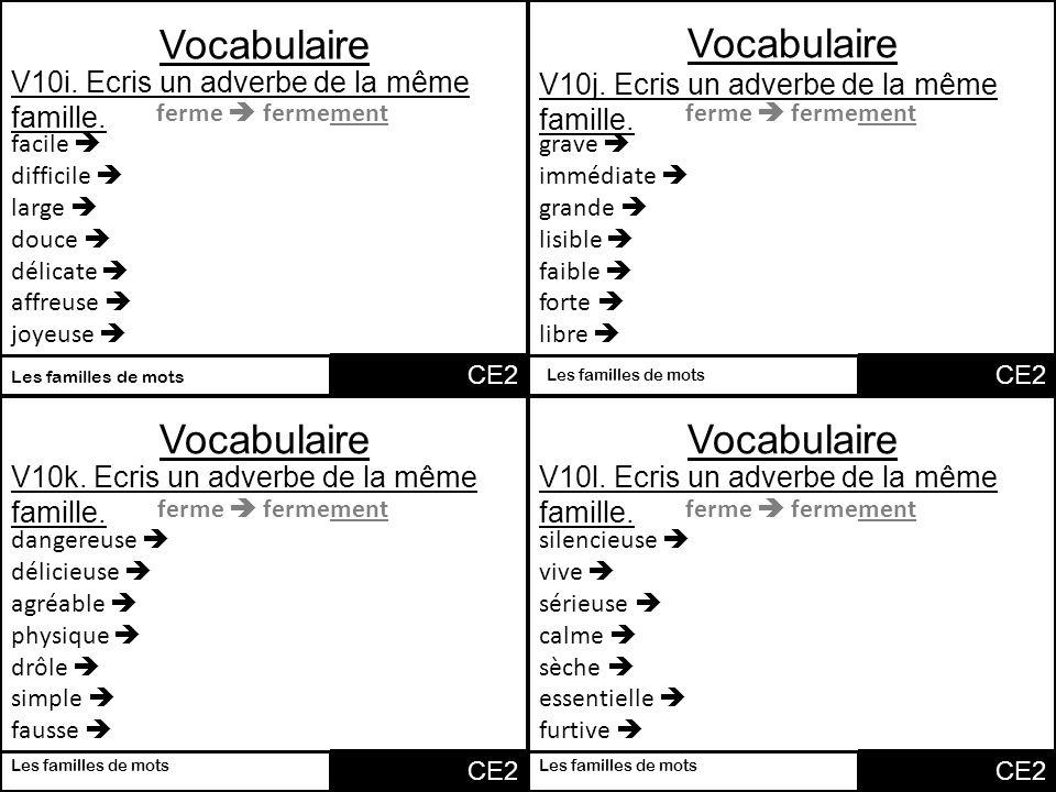Vocabulaire vocabulaire vocabulaire vocabulaire v1a associe 2 mots ppt t l charger - Mot de la meme famille que fleur ...