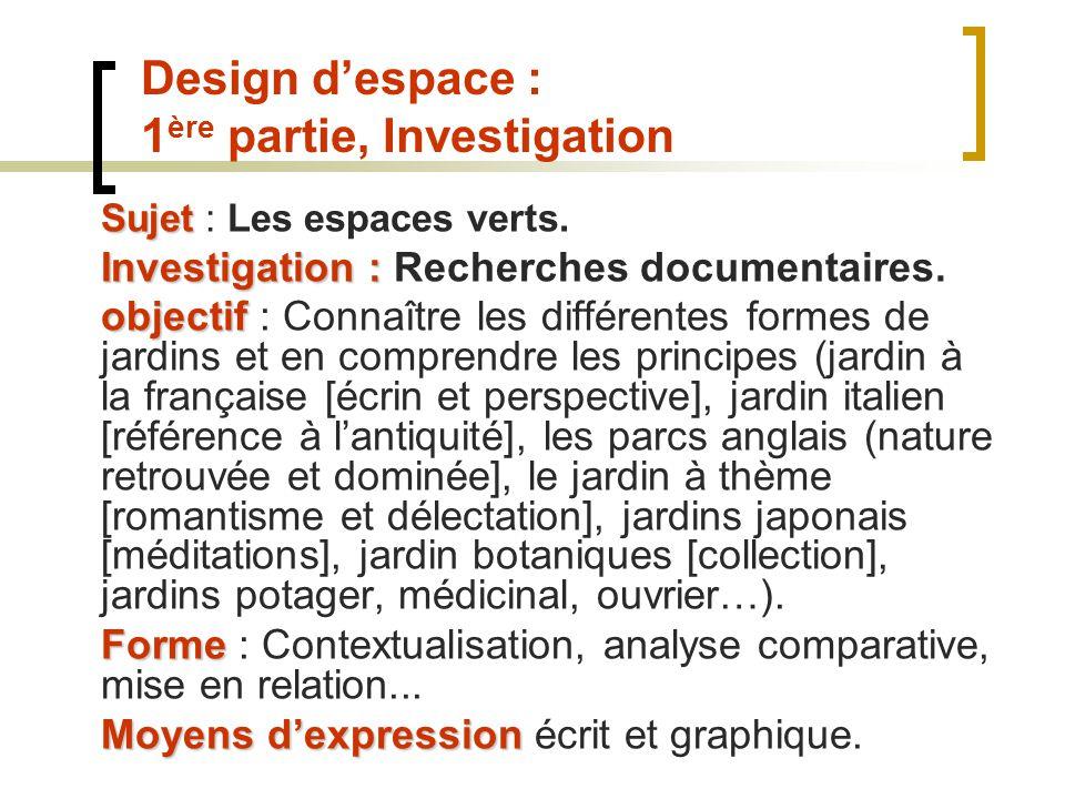 Texte de r f rence l valuation des arts appliqu s et de for Ouvrier en espaces verts