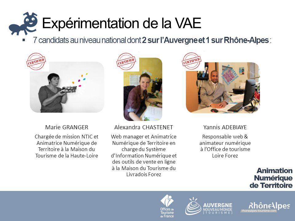 Expérimentation de la VAE