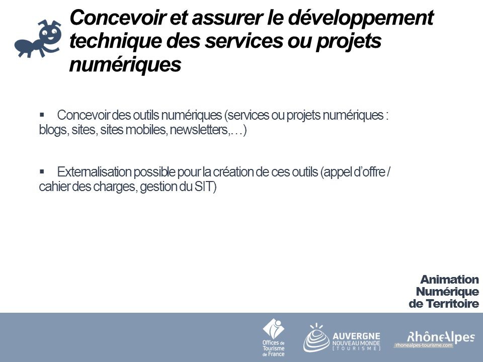 Concevoir et assurer le développement technique des services ou projets numériques
