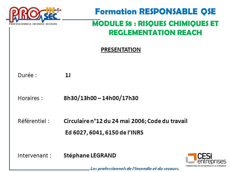 Formation RESPONSABLE QSE - ppt video online télécharger