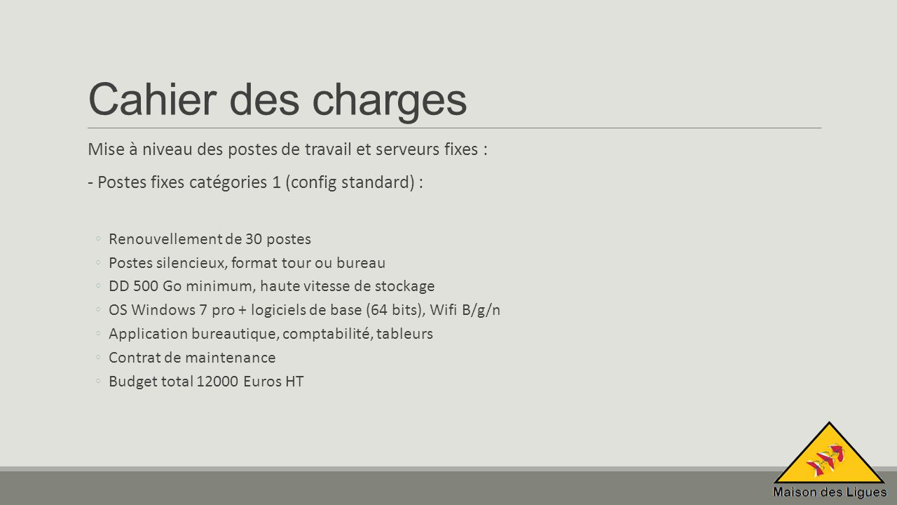 7 Cahier Des Charges ...