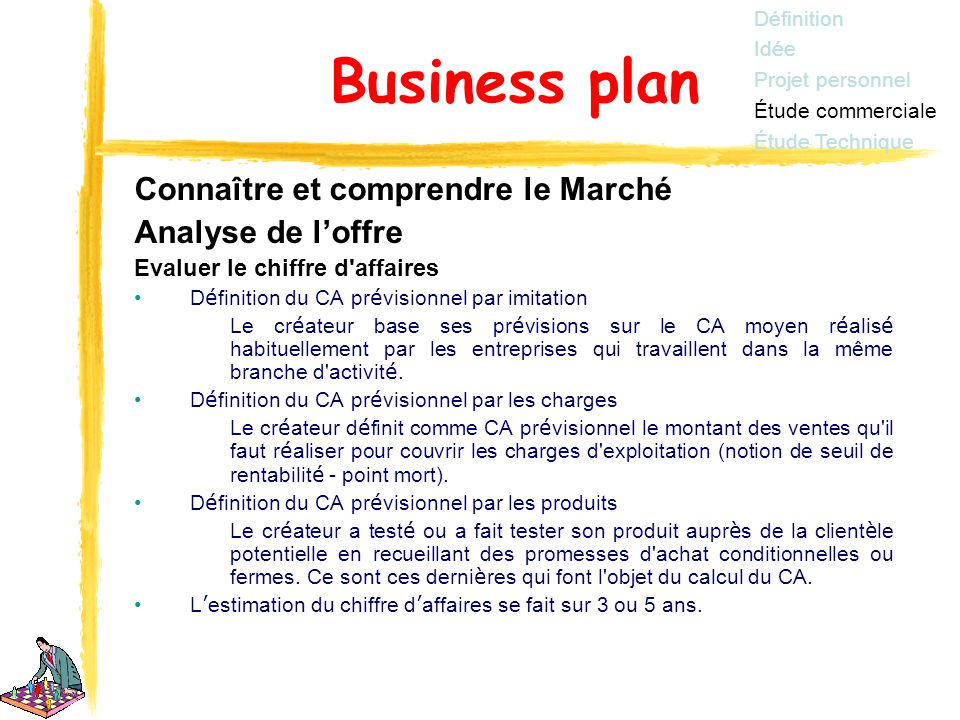 Elaboration business plan ppt t l charger for Idee micro entreprise qui marche