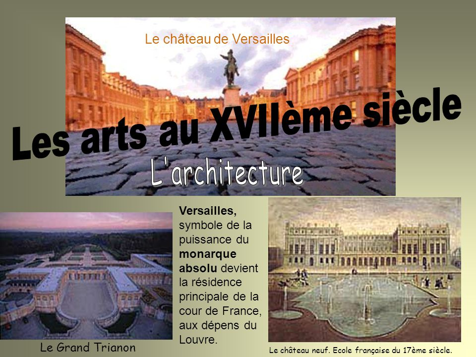 La soci t fran aise au xviie si cle ppt video online t l charger - Residence grand siecle versailles ...