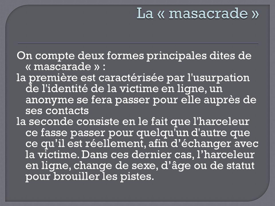La « masacrade »