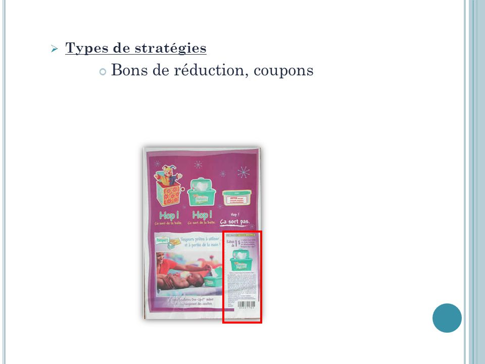Bons de réduction, coupons