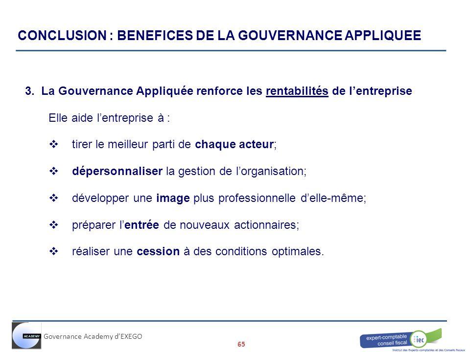 la gouvernance d entreprise pdf