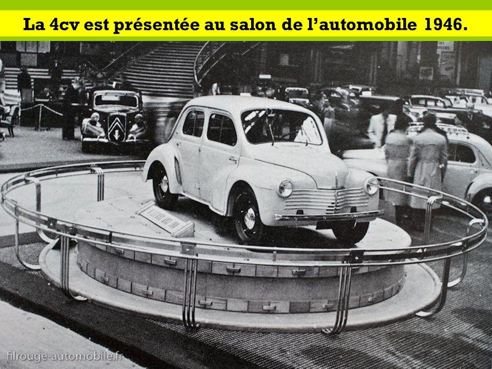 Les renault d apr s guerre ppt video online t l charger - Heure d ouverture salon de l auto ...