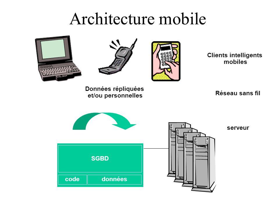 Architecture des sgbd les architectures physiques de sgbd for Architecture client serveur