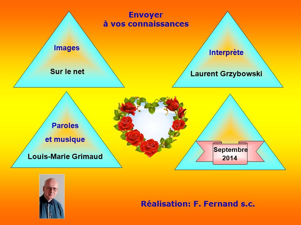 Envoyer à vos connaissances Réalisation: F. Fernand s.c.