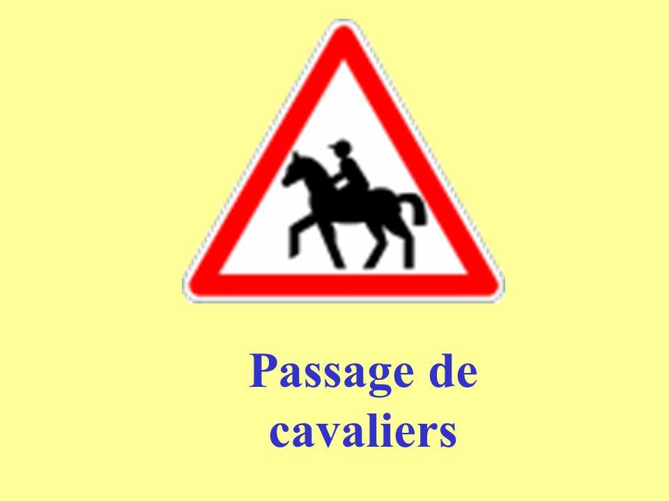 Passage de cavaliers