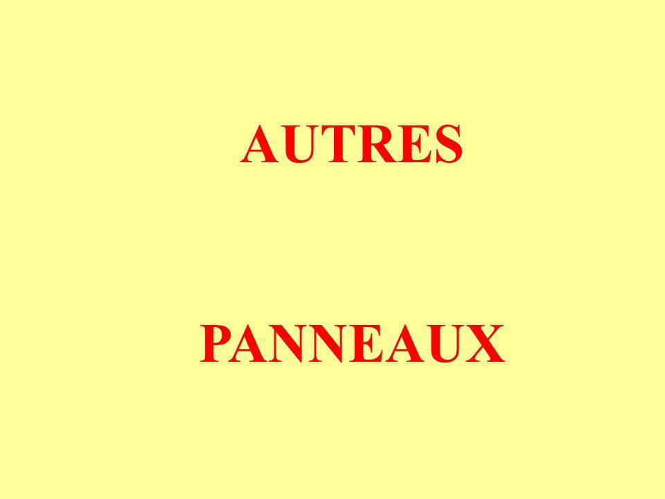 AUTRES PANNEAUX