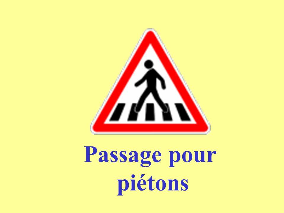 Passage pour piétons