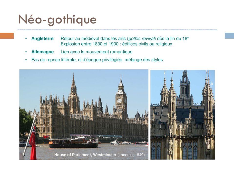 L eclectisme ppt t l charger for Architecture neo gothique