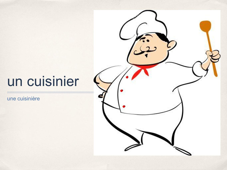 Les m tiers et les professions ppt t l charger for Un cuisinier