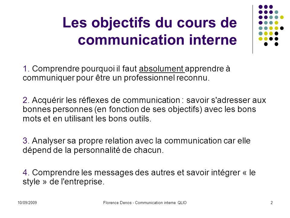 Assez Communication interne QLIO ppt télécharger DB71