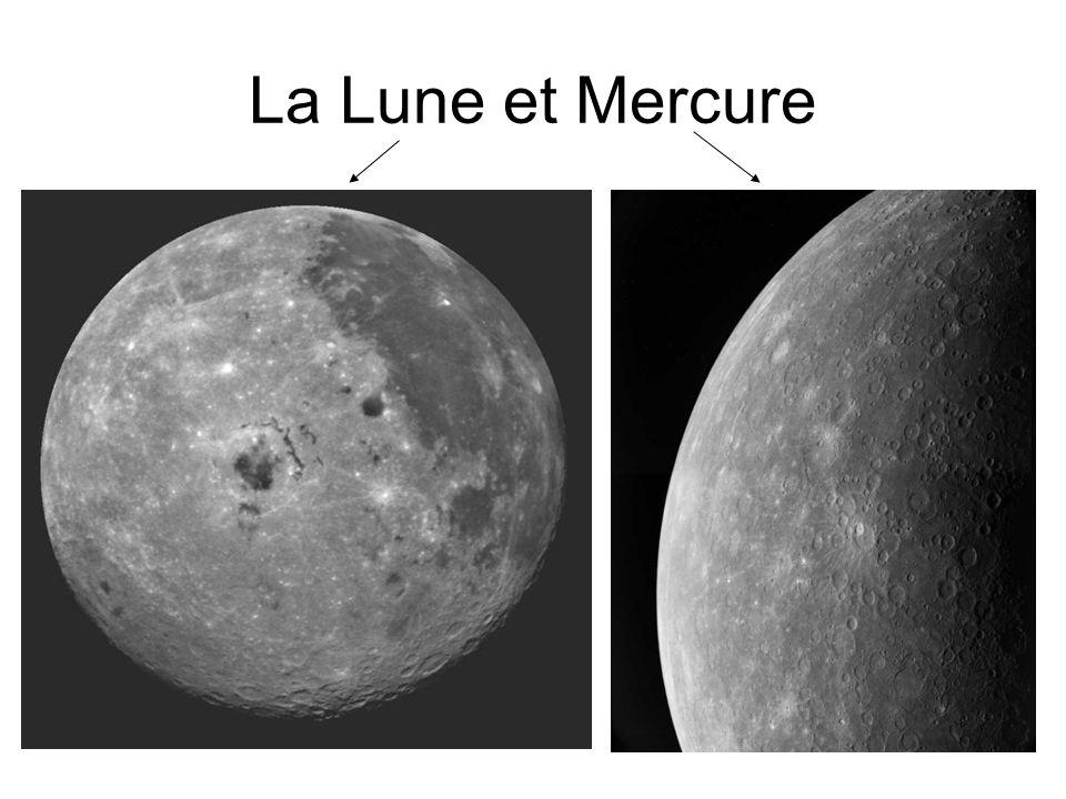 La Lune et Mercure