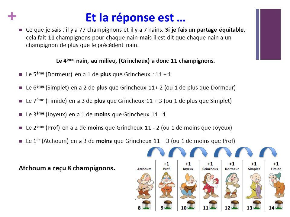 Rallye math matique preuve n 5 ce2 r ponses ppt - Le nain grincheux ...