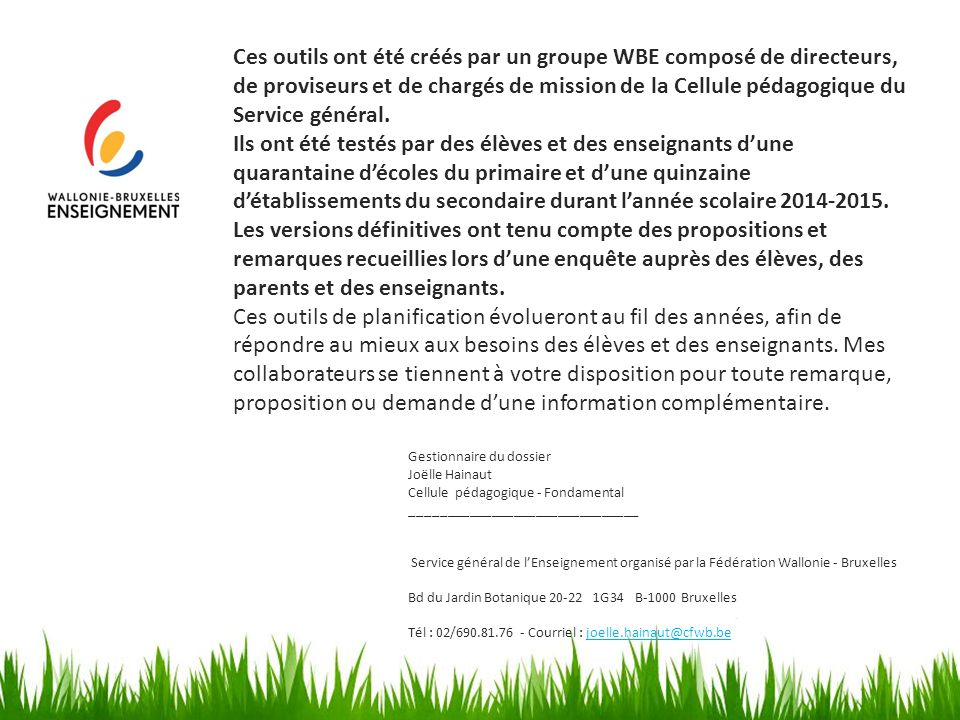 Les nouveaux journaux de classe ppt t l charger for Bd du jardin botanique 50 bruxelles