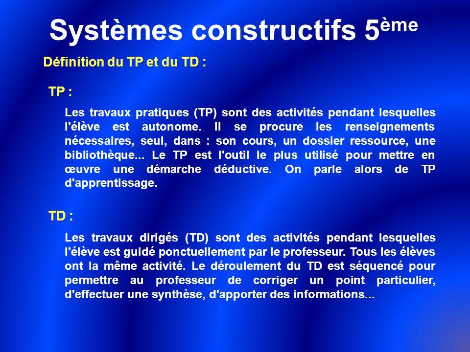 Systèmes constructifs 5ème - ppt télécharger